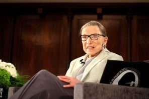 The emotional reason why Ruth Bader Ginsburg makes a cameo in her own biopic