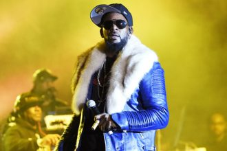 R. Kelly performs during Soulquarius 2017 at The Observatory on Feb. 18, 2017 in Santa Ana, Calif.