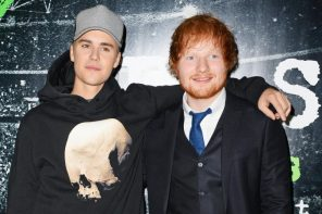 Justin Bieber has a new song with Ed Sheeran