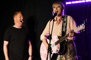 Taylor Swift gives surprise Pride Month performance at the Stonewall Inn