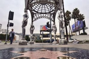 Marilyn Monroe statue stolen from atop Hollywood art space