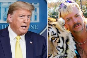 Trump Addresses Whether He Will Consider Pardoning Tiger King's Joe Exotic During Coronavirus Briefing