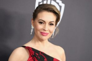 Alyssa Milano explains why police were called near her home