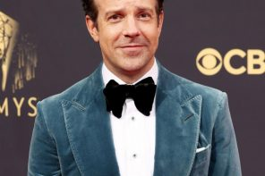 Jason Sudeikis Wins Big at the 2021 Emmys for 'Ted Lasso,' Thanks His and Olivia Wilde's Two Kids, SNL's Lorne Michaels